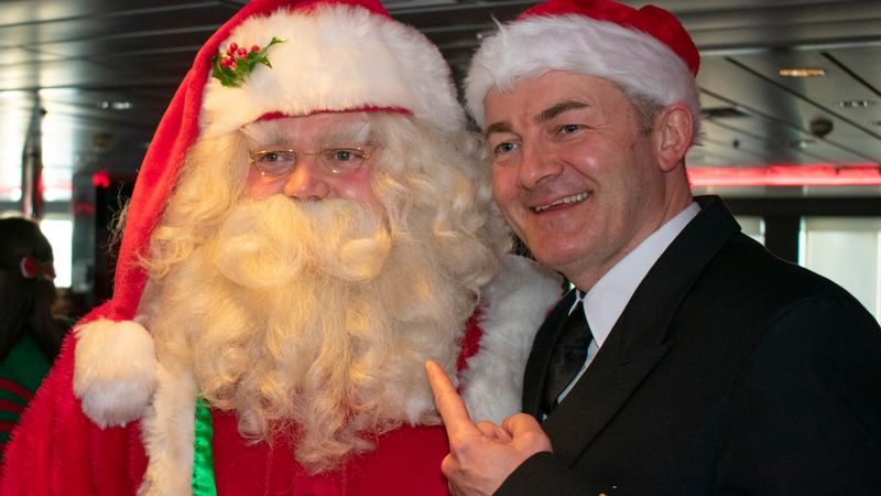 DFDS and Cash for Kids Sail With Santa 2019