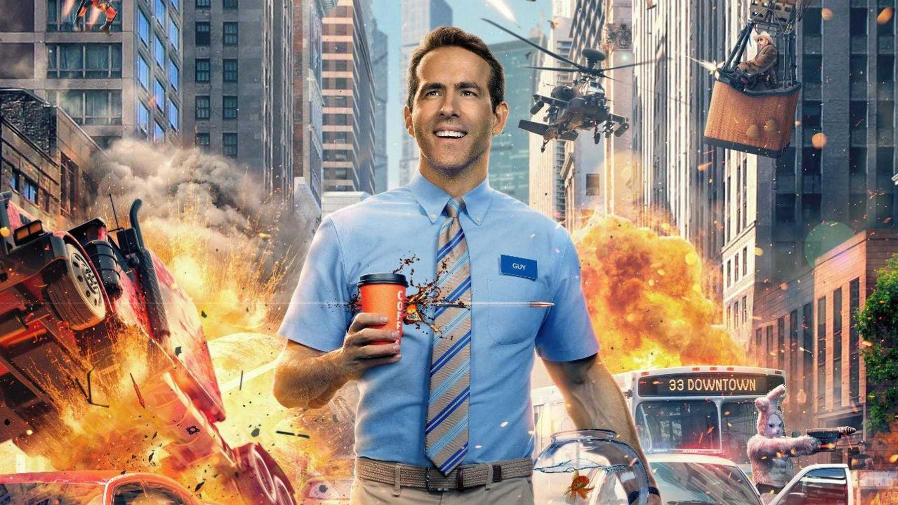 Ryan Reynolds Is In A Game For The Free Guy Trailer | Movies | Empire