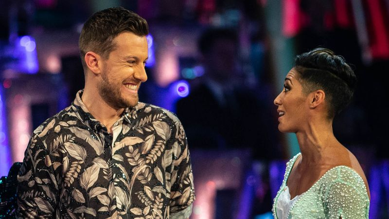 Strictly's Karen Hauer shares super sweet post about new BFF Chris Ramsey