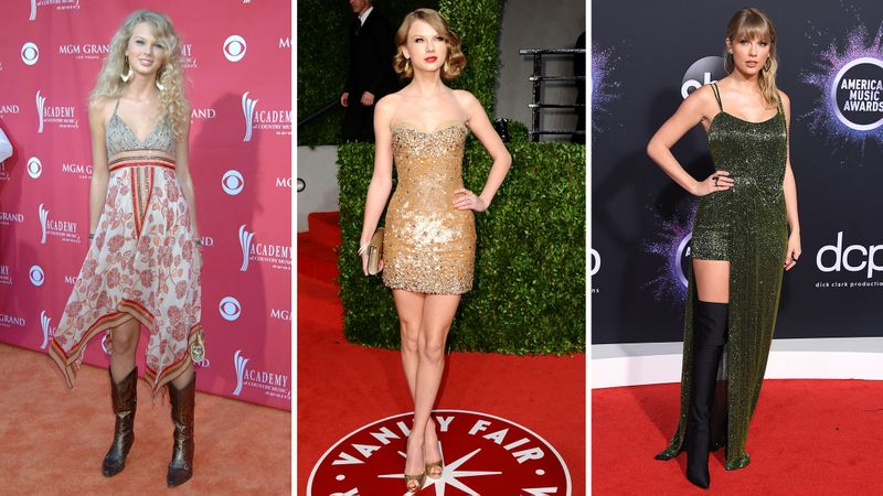 Taylor's Swift Style Evolution