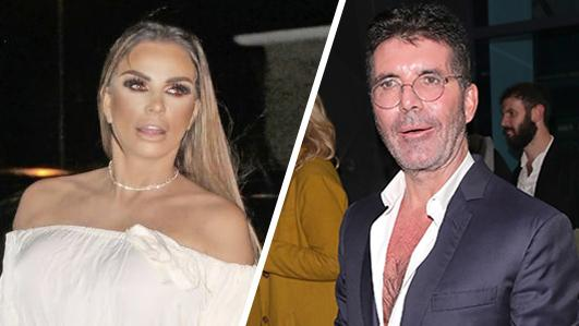 Katie Price's indecent proposal to Simon Cowell