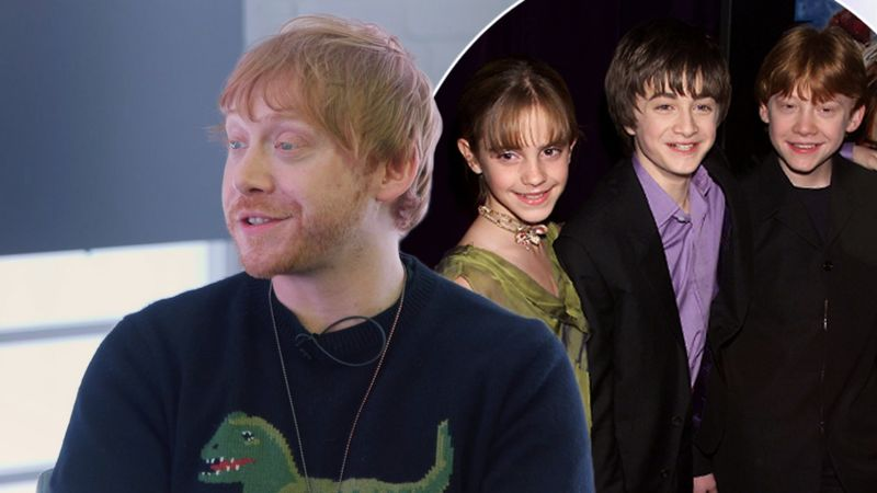Rupert Grint says he's only just seen the first Harry Potter film all the way through