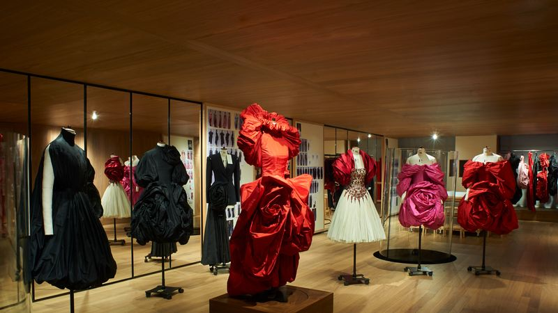 This McQueen Exhibition Lets You Get Up Close To Amazing Dresses