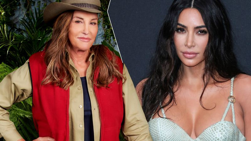 Kim Kardashian says I'm A Celeb didn't invite her family to greet Caitlyn Jenner on the bridge