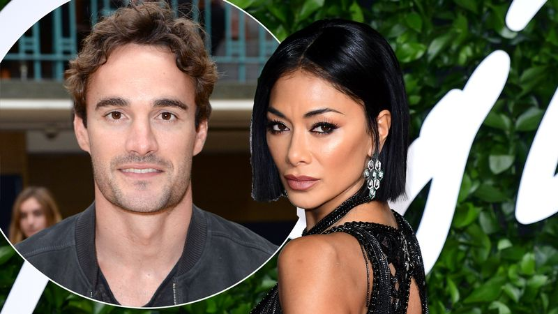 Nicole Scherzinger and Thom Evans 'pack on the PDA' following romance rumours