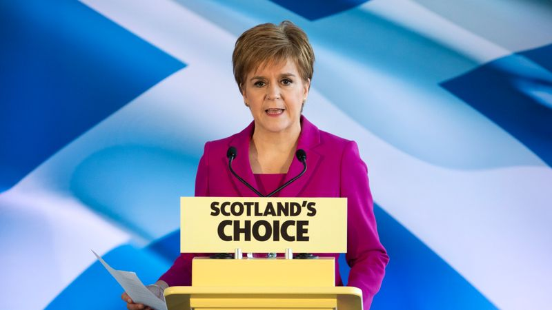 Second Scottish independence referendum 'a democratic right' after Tories defeated north of border