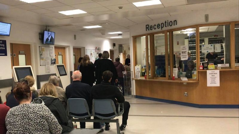 Patients wait up to 36 hours for hospital beds