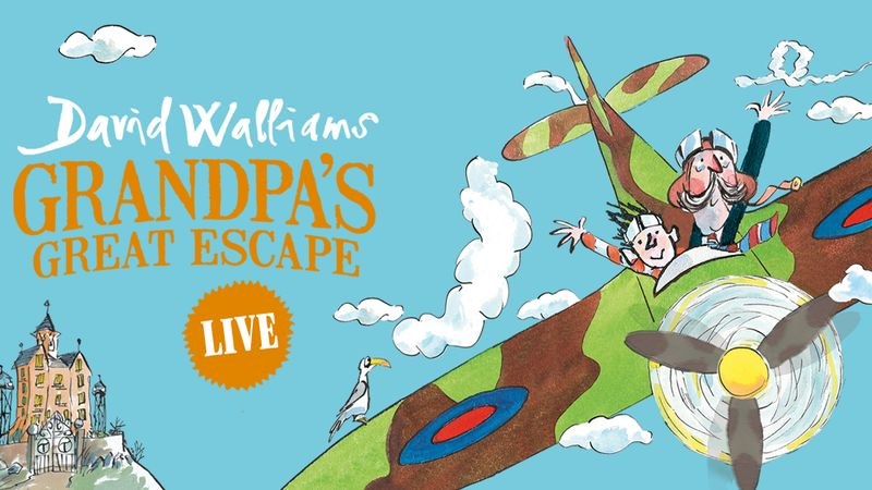 Win a family pass to see Grandpas Great Escape