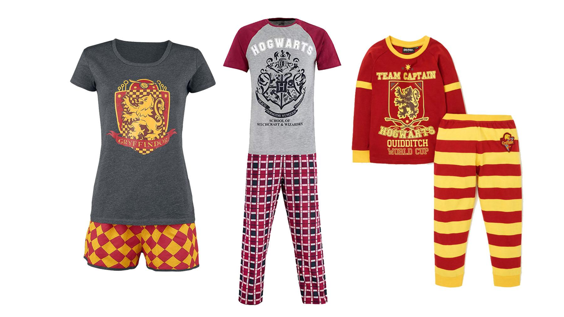 Harry Potter Mens Quidditch Pyjamas