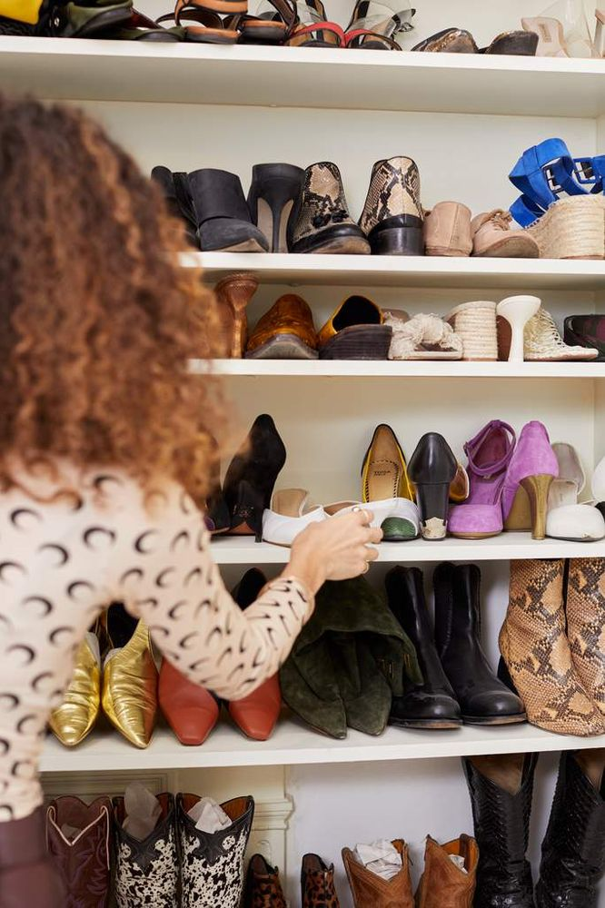 Candice and cowboy boot collection