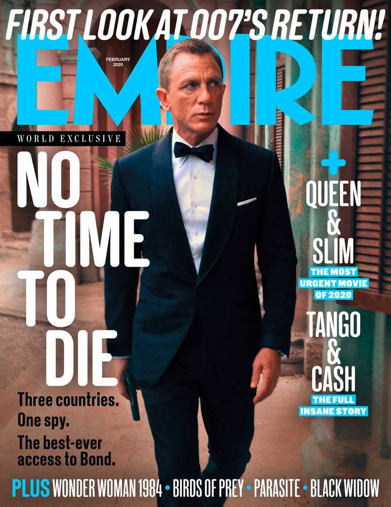 Empire – February 2020 – newsstand cover – No Time To Die