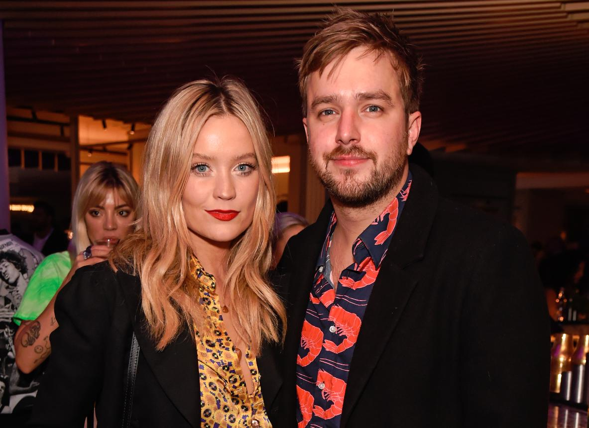 Inside Laura Whitmore and Iain Stirling's boozy New Year bash