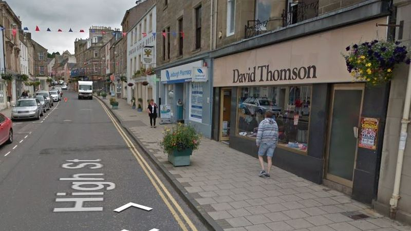 Thieves steal £6000 worth of designer gear during raid on Borders clothing store