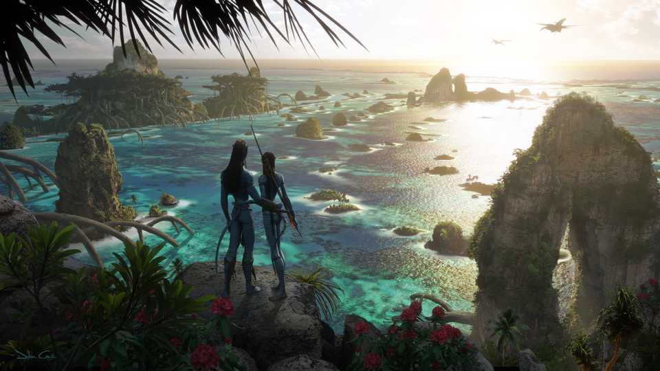 Avatar 2: New Concept Art Online From James Cameron's Sequel