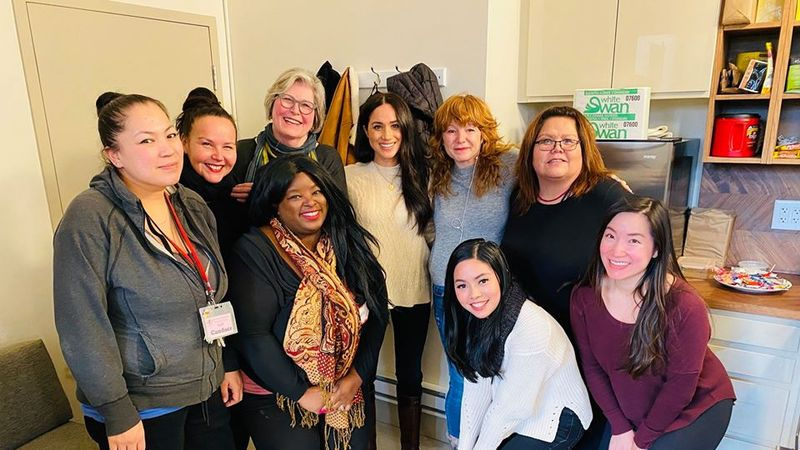 Meghan's First Outfit Since She Left The UK Has A Secret Message