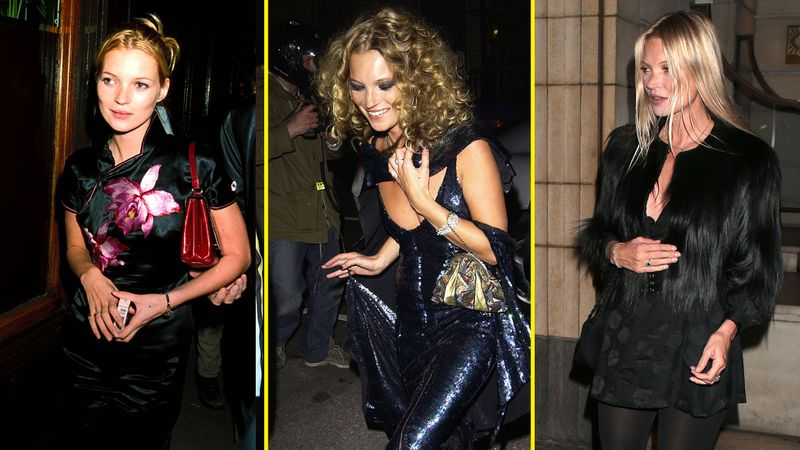 Every One Of Kate Moss' Birthday Party Outfits