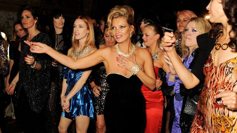 Kate Moss' Best Ever Birthday Parties