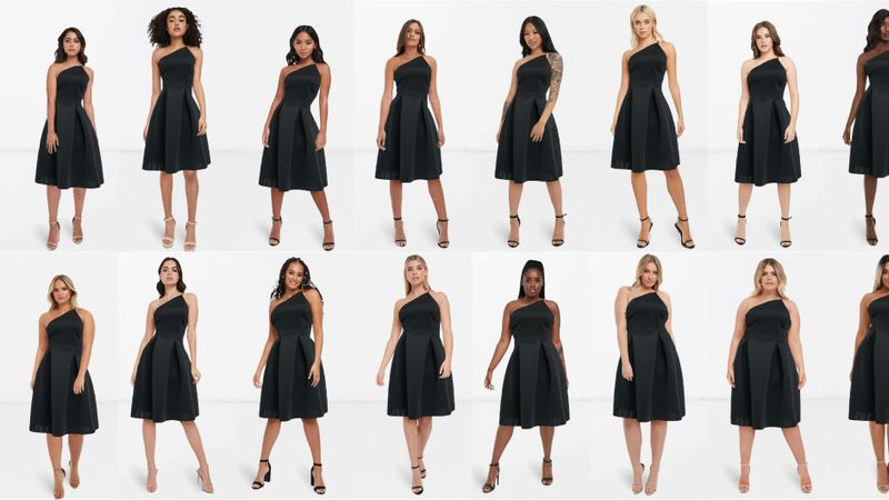 ASOS Launches See My Fit Tool To Show How Dresses Look On Different Sizes