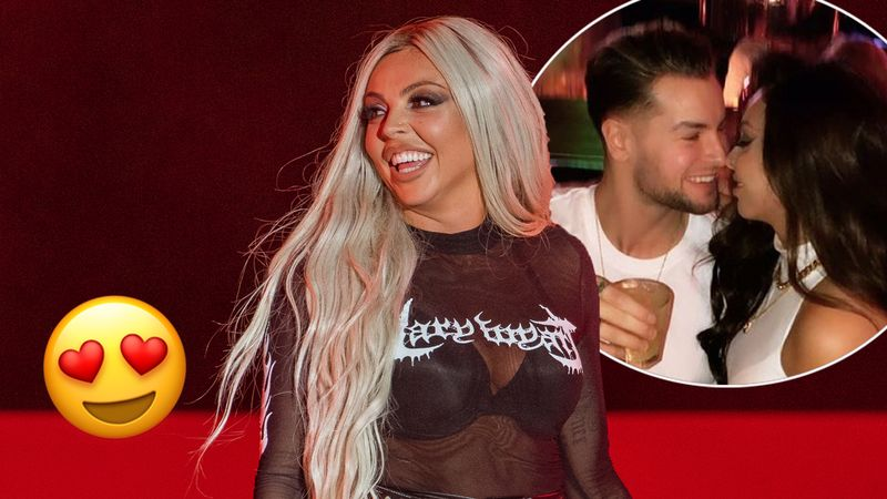 Jesy Nelson and Chris Hughes post CUTE messages celebrating one-year anniversary