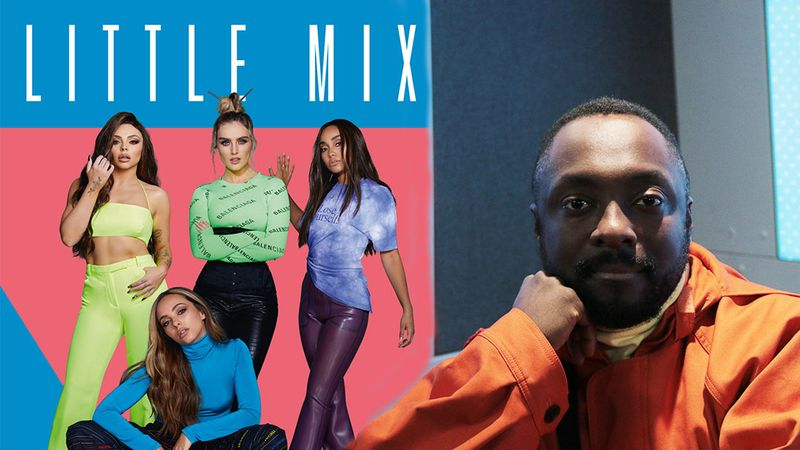 will.i.am reveals he is working on a new single for Little Mix
