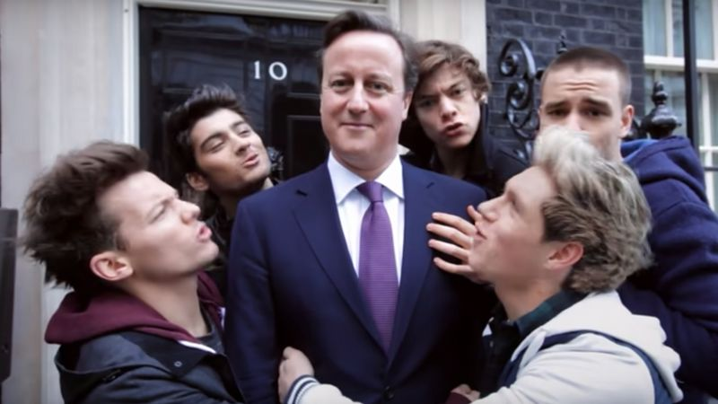 Your Essential Reminder That David Cameron Was In A One Direction Video