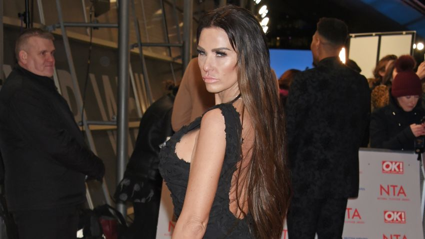 "Katie Price asked if she's ever ""cheated"" or ""dressed as a man"""