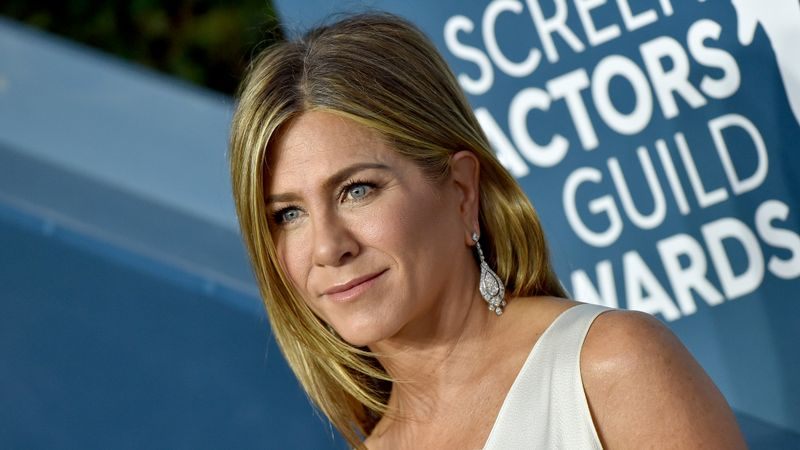 Jennifer Aniston Wore A Vintage Dress To The Sag Awards 2020