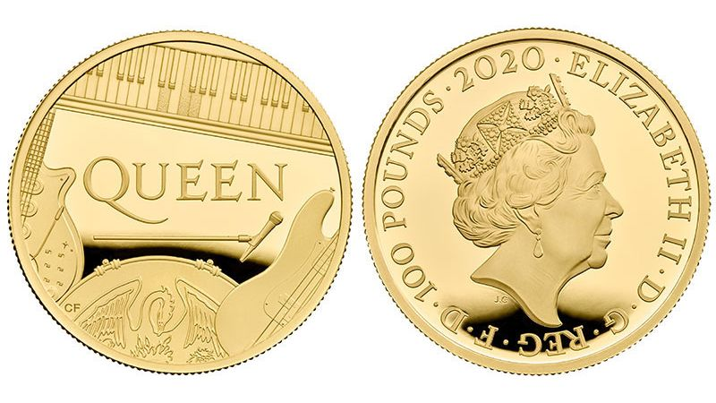 Queen celebrated with UK coin collection from the Royal Mint