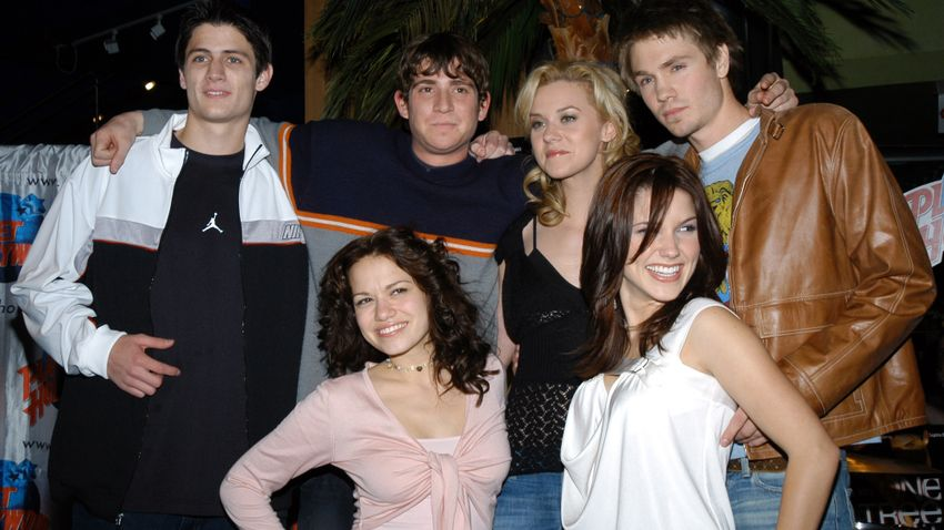 The Cast of One Tree Hill on The Red Carpet in the '00s
