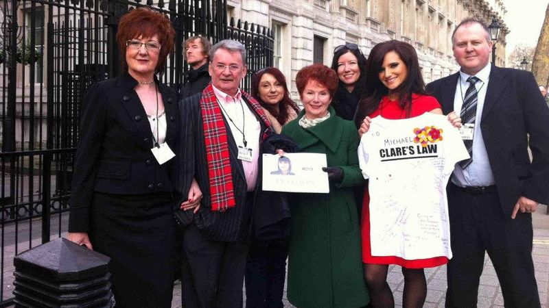 Prestigious honour for dad who campaigned for Clare's Law