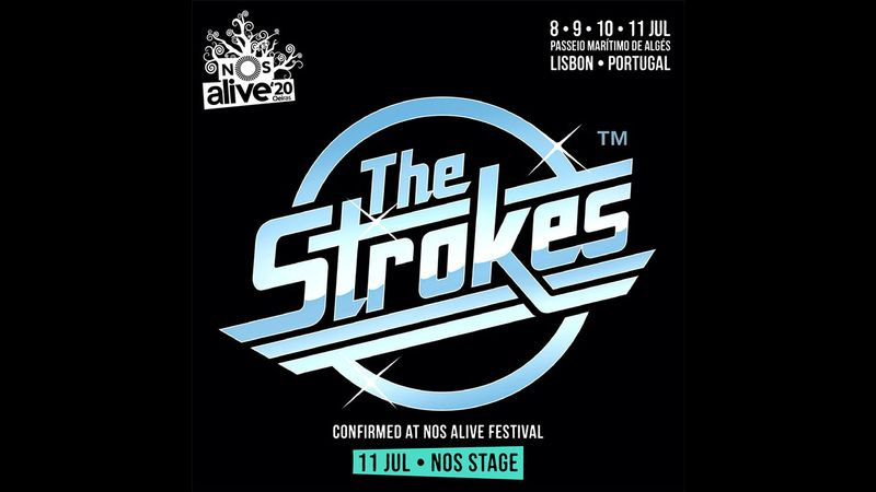 The Strokes confirmed for NOS Alive 2020