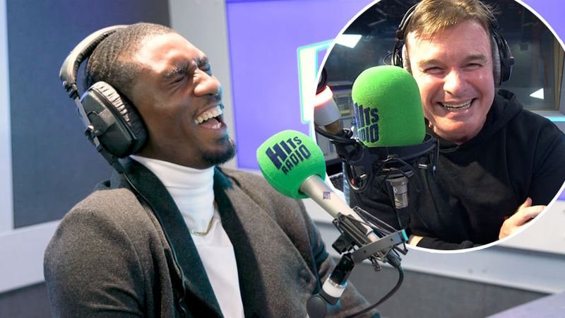 Love Island's Ovie gives Hits Radio's Greg some GREAT relationship advice