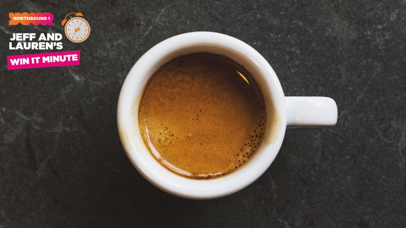 Win it Minute: What is the name of a small, strong black coffee?