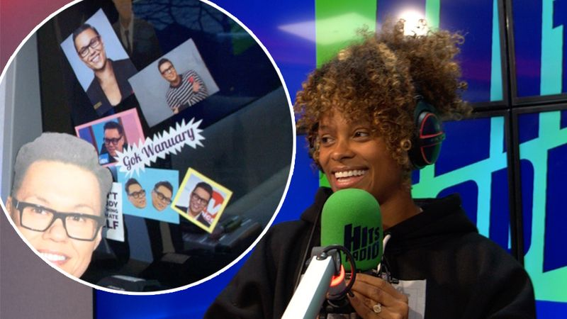 Fleur East's fantastic Rap Roulette was ALL about Gok Wanuary 🙌