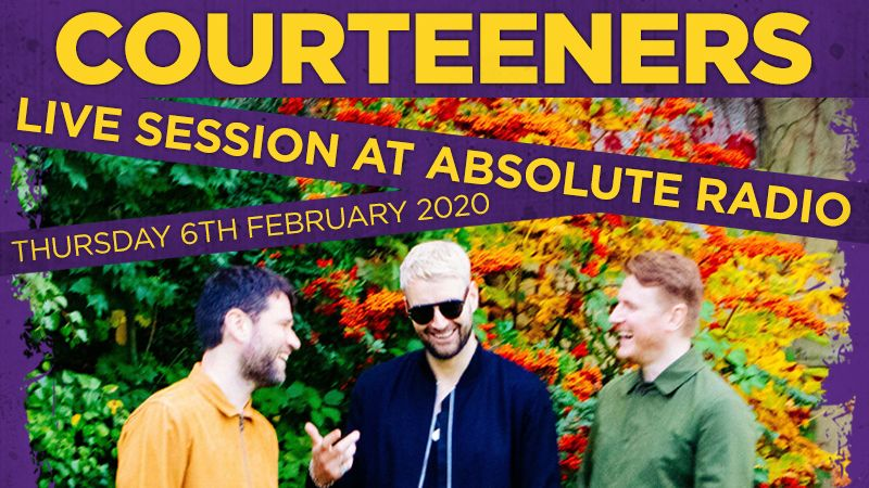 Win tickets to Courteeners' live session