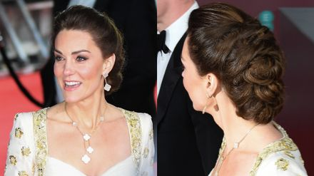 kate middleton upped her beauty game for the baftas 2020 grazia kate middleton upped her beauty game