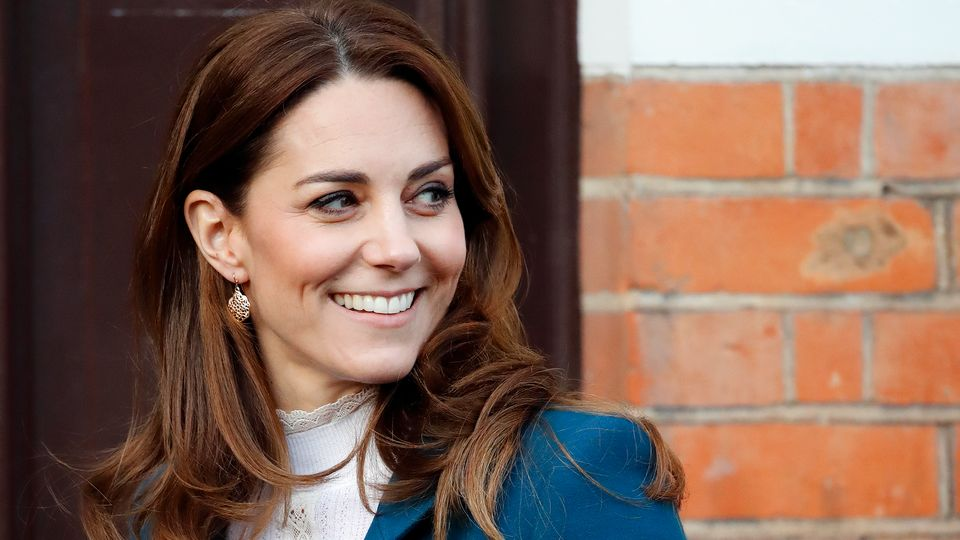 Kate Middleton's Signature Blow-Dry Is Easier To Achieve Than You Think