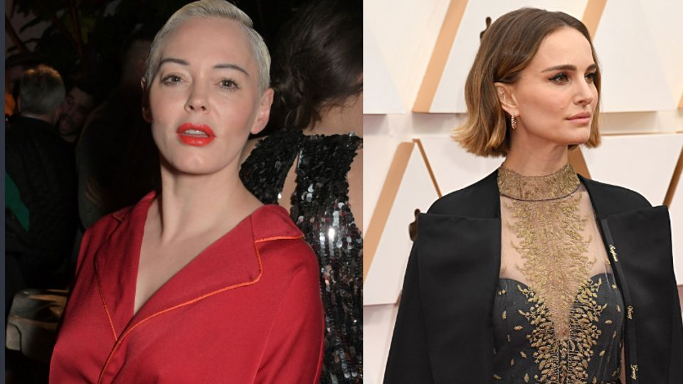Rose McGowan Accuses Natalie Portman Of Hypocrisy For Wearing Cape With Names Of Snubbed Female Directors