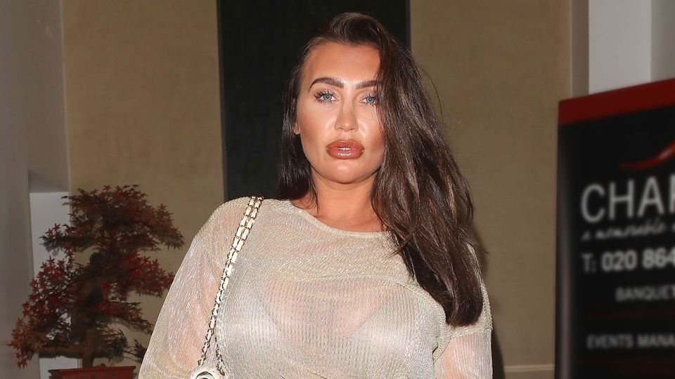 Lauren Goodger hits back at implants claims and says she's 'always had a big bum'