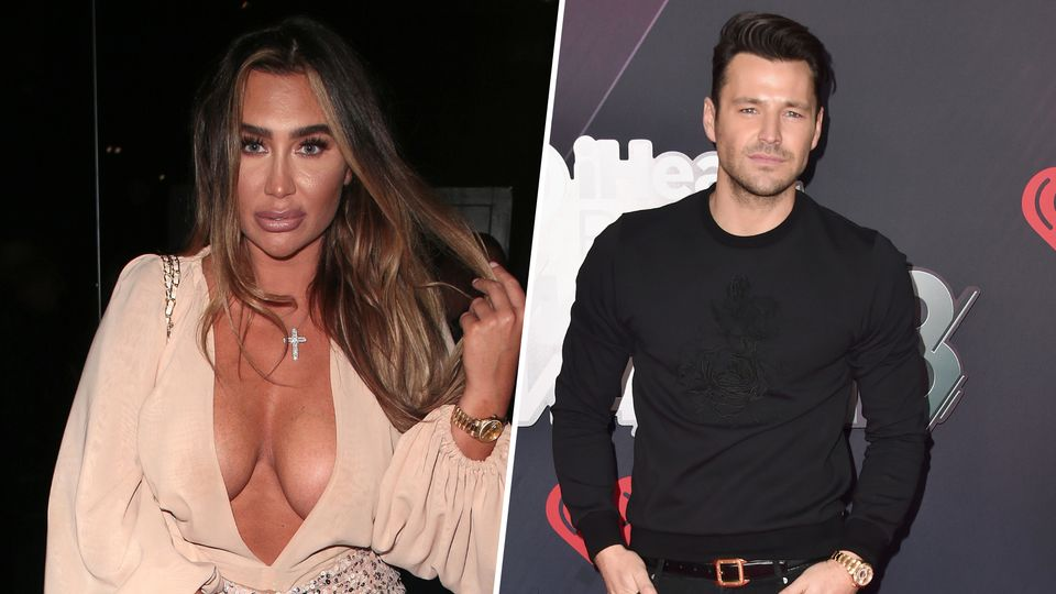 Lauren Goodger hits out at Mark Wright as she shares racy Valentine's Day post
