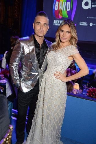 Robbie y Ayda Williams