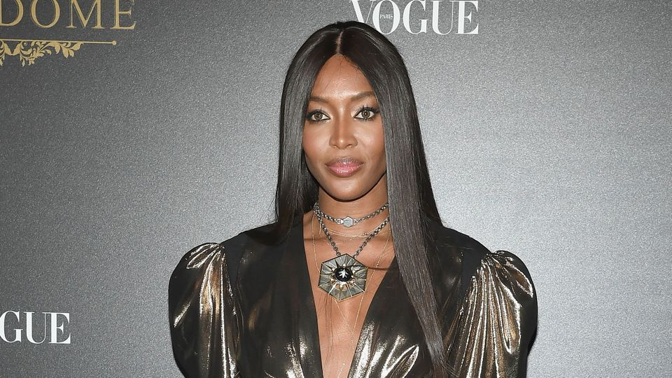 Naomi Campbell posts topless photo and it's wonderful