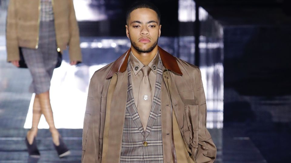 Sade's Son Izaak Adu Made His Catwalk Debut At Yesterday's Celeb-Packed Burberry Show