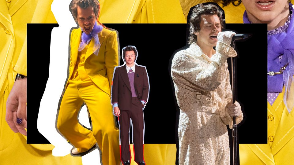 At The BRIT Awards, Harry Styles Proved He's The Ultimate Fashion Rule-Bender