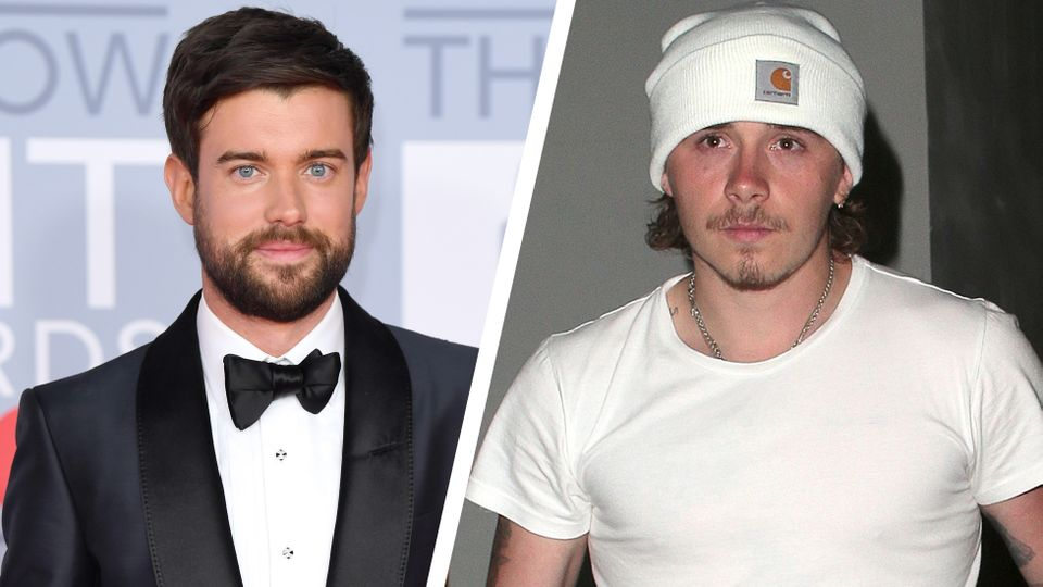 Jack Whitehall leaves with BRITs with Brooklyn Beckham's ex