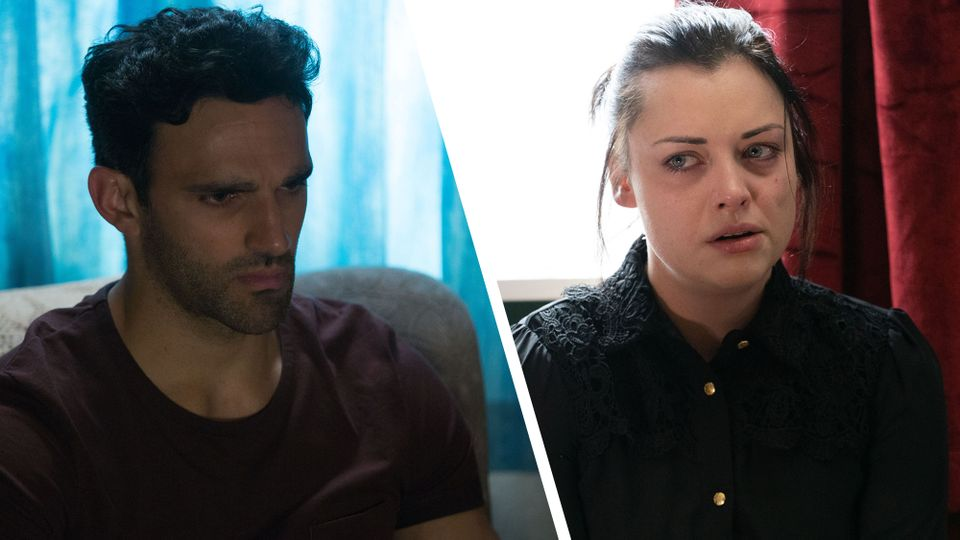 EastEnders spoilers: tension boils as Whitney and Kush are in court
