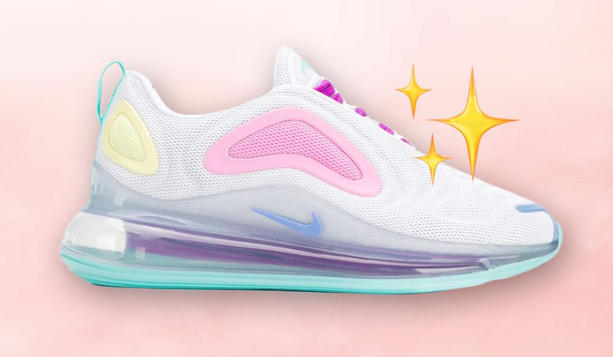 Nike's vibein' pastel trainers are