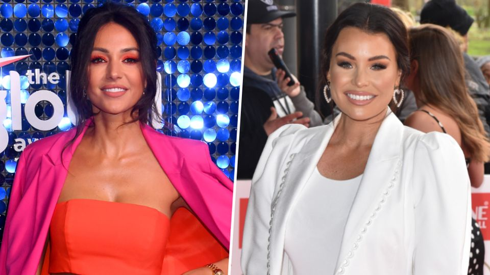 Michelle Keegan And Jess Wright S Baby Race Celebrity Heat