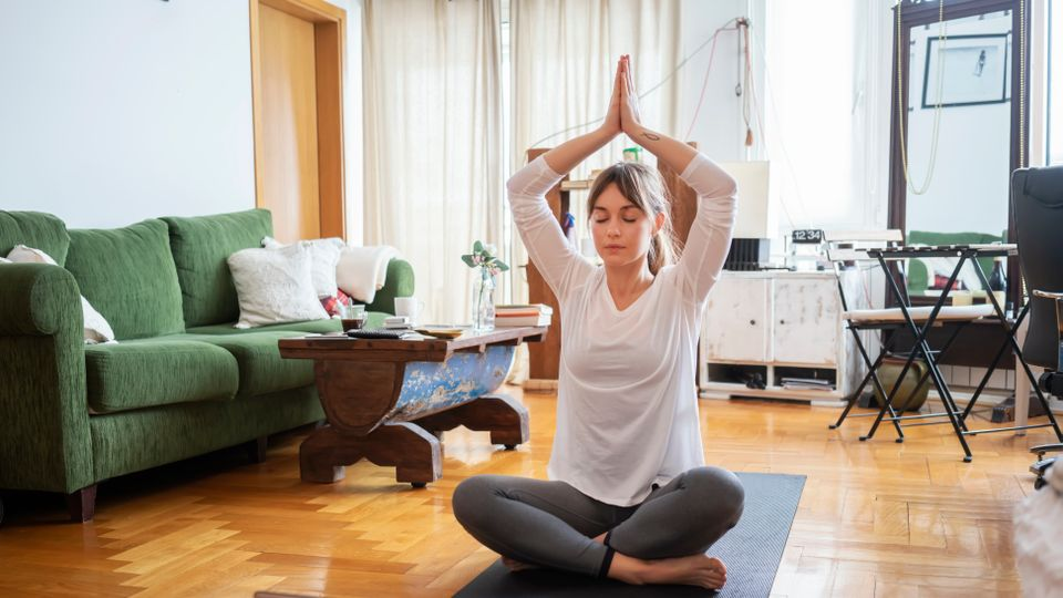 Yoga At Home? Don't Sweat It. Here's Everything You Need To Help You Feel More Zen
