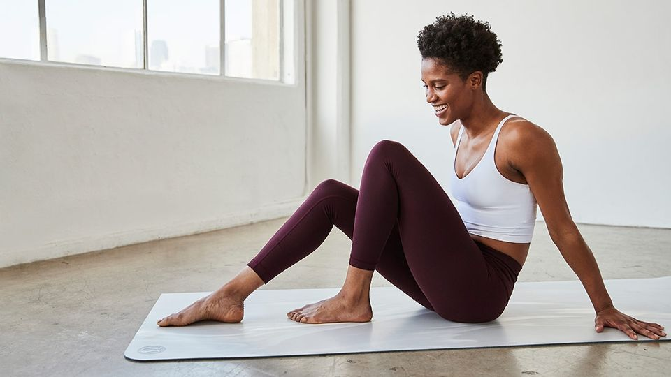 The Best (And Most Stylish) Activewear For Practising Yoga At Home